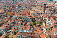 Venice from San Marco bell tower, Italy Stock Photo