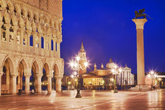 Venice San Marco Lion Rise Stock Photos