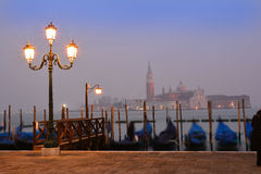 Venice San Marco, by night Stock Photo