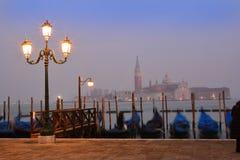 Venice San Marco, by night Stock Photo