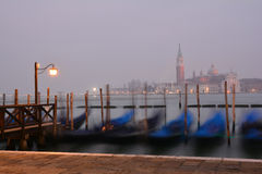 Venice San Marco, by night Royalty Free Stock Image