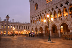 Venice San Marco, by night Stock Photography