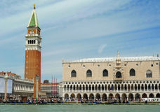 Venice, San Marco seen from the canal, horizontal Stock Photo