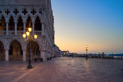 Venice, San Marco square in the morning Stock Image