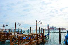 Venice, from San Marco view in the morning, Italy Royalty Free Stock Photography