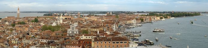 Venice from San Merco tower Stock Photos