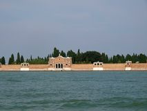 Venice - San Michele island Royalty Free Stock Photo