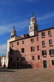 Venice San Polo neighbourhood Stock Photo