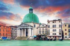 Free Venice - San Simeone Piccolo Royalty Free Stock Image - 55111486
