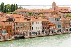 Venice Sant'Eufemia fondamenta Stock Photo