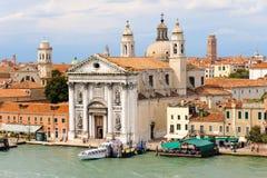 Venice Santa Maria del Rosario church Royalty Free Stock Photos