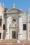 Venice - Santa Maria della Misericordia church Stock Image