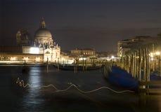 Venice- Santa Maria della Salute church Stock Photo