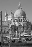 Venice - Santa Maria della Salute church Royalty Free Stock Photos