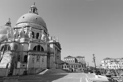 Venice - Santa Maria della Salute church and waterfront Stock Image