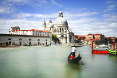 Venice, santa Maria della salute Royalty Free Stock Photo