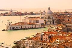 Venice, santa maria dellasalute. Italy Royalty Free Stock Photo