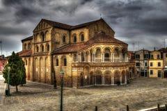 Venice. Santa Maria e San Donato in Murano island, Italy Stock Photos