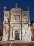 Venice - Scuola Grande di San Rocco and church Chiesa di San Rocco Royalty Free Stock Images