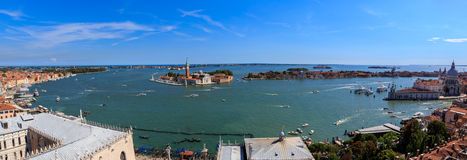 Venice. The sea view of Venice Stock Images