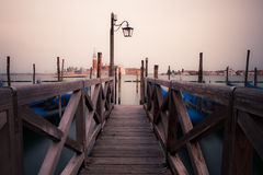 Venice seafront Stock Image