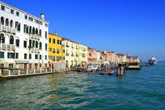Venice seafront view Royalty Free Stock Image