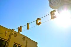 Venice Sign  Royalty Free Stock Photos