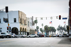 The Venice Sign, in Venice Beach  Stock Image
