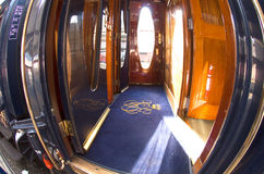 The Venice Simplon-Orient-Express - carriage Stock Photos
