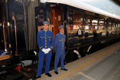 The Venice Simplon-Orient-Express - Conductors Stock Image