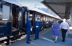 The Venice Simplon-Orient-Express - Conductors Royalty Free Stock Photography