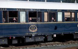 The Venice Simplon-Orient-Express  emblem Royalty Free Stock Photography