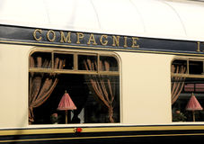 The Venice Simplon-Orient-Express in Innsbruck Stock Photos