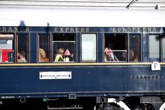 The Venice Simplon-Orient-Express in Innsbruck Royalty Free Stock Photo