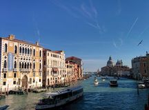 Venice. Sky Beautiful Day italy stock photo