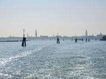 Venice skyline Royalty Free Stock Images