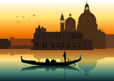 Venice Skyline Royalty Free Stock Photo