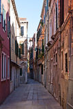 Venice small street Royalty Free Stock Images