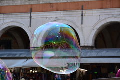 Venice in a soap bubble Royalty Free Stock Images
