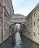 Венеция, Италия Мост dei Sospiri Ponte вздохов стоковое фото rf