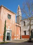 Venice - South portal of church San Francesco della Vigna Royalty Free Stock Photos