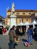 Venice square on nice Carnival day Stock Image