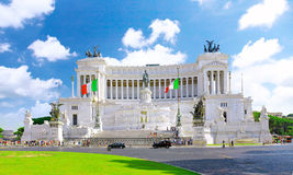 Venice Square in Rome. Italy. Venice Square in Rome, and the Monument of Victor Emmanuel . Italy Stock Images