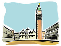 Venice (St. Mark's Square) Royalty Free Stock Photo