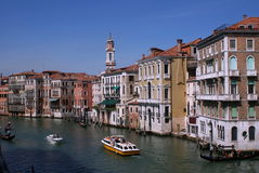 Venice street. A picture of Venice street, taken on April of 2008 Stock Photos