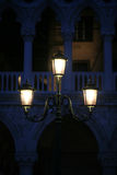 Venice Street Light Stock Photography