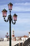 Venice Street Light Royalty Free Stock Images
