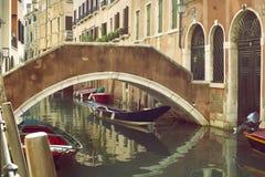 Venice Street Scene Stock Image