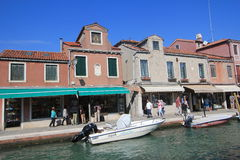 Venice street view in Italy. Stock Photography