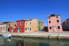 Venice street view in Italy. Stock Image